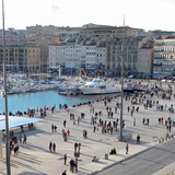 Renovation of the Old Port, Marseille, France - 2013. AUTHORS: Michel Desvigne Paysagiste MDP, Foster + Partners, TANGRAM, INGEROP, AIK AIK
