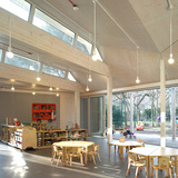 Winner of the Stephen Lawrence Prize 2013: Montpelier Community Nursery by AY Architects. Photo: Nick Kane