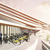 Maritime & Bike Terminal by KAMJZ. Image courtesy of KAMJZ.