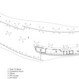 Mezzanine Level, drawing courtesy of Bohlin Cywinski Jackson