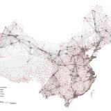 China urban network (City + Town). Image credit and courtesy of Dingliang Yang.