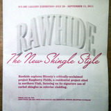 Rawhide The New Shingle Style Invitation via Scott K
