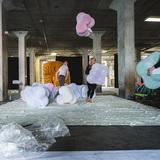 The Bubble Lounge Installation. Photo: GLINTstudios