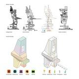 Mark Cunninghams Interior Urbanism project Assemblage City for ARCH553 with Prof. Alexander Eisenschmidt via Matthew Messner