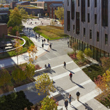 Oak & Laurel Halls - University of Connecticut in Storrs, CT by Leers Weinzapfel Associates