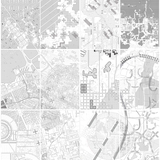Modernist Campo: A map that assembles historical architectural visions of the city and blends different schemes to speculate on new forms of urbanism. Each landmass focuses on two schemes (such as Howard's Garden City, Hilberseimer's Groszstadt, or Tange's Tokyo Bay Plan) and, in turn...