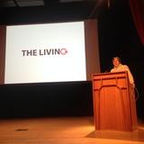 David Benjamin of The Living. Photo credit: Ayesha Ghosh.
