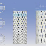 Facade and plan, Concept A (Image: RAFAA)