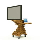 tv-cart via Farid Rakun