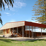 Rotoroa Shelter & Exhibition Centre, Rotoroa Island, Auckland, by Pearson & Associates Architects Ltd (Photo: Kathrin Simon)