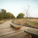 John M Craddock Wetland Nature Preserve in Muncie, IN by Design/Build Team at Ball State University; Team Member: Cory McCurdy