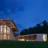 Architecture Honor Award Winner: Won Dharma Center in Claverack, NY by hanrahanMeyers (Image Credit: © Michael Moran/OTTO)
