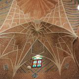Rehabilitation of Tabriz Bazaar: Detail of brick vaults. Photo: AKAA / Amir Anoushfar