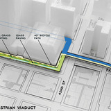 Diagram viaduct (Image: WXY Architecture + Urban Design)