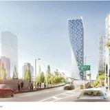Beach & Howe Tower in Vancouver by Bjarke Ingels Group.