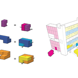 Joseph Baisch and Jo Garst | Baisch and Garsts scheme voids a layer of space mid-tower block for use as an outdoor common element for the populations of the building.
