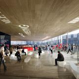 Interior rendering of the lobby (Image: AAKAA & MARS Architectes)