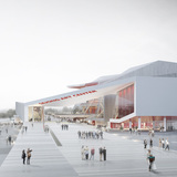 Entrance view (Image: H Architecture & Haeahn Architecture)