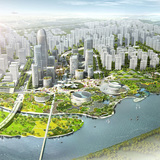 HAO's winning Binhai Eco City Master Plan design for Tianjin. Image courtesy of HAO / Holm Architecture Office.