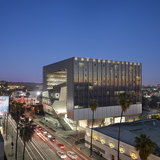 Grand Prize recipient of the 2014 LA Architectural Awards: Emerson College Los Angeles. Architect: Morphosis. Photo Credit: © Roland Halbe