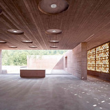 SPECIAL MENTION: Islamic Cemetery, Altach, Austria - 2012. AUTHORS: Bernardo Bader Architects