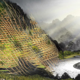 Second Place: Mountain Band-Aid, Yiting Shen, Nanjue Wang, Ji Xia, Zihan Wang (China)