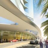 Drop off (Image: Adrian Smith + Gordon Gill Architecture)