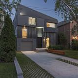 Tetris House in Toronto, Canada by rzlbd; Photo: borXu Design