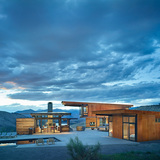 Studhorse; Winthrop, WA - Olson Kundig Architects. Photo © Benjamin Benschneider
