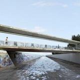 Art Bridge reconnecting LA River via MegalopolisNow