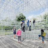 Serpentine Gallery Pavilion 2013 Designed by Sou Fujimoto © Sou Fujimoto Architects Image © 2013 Iwan Baan