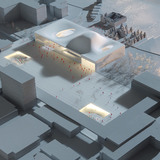 Model (Image: Henning Larsen Architects and Van den Berg Groep)