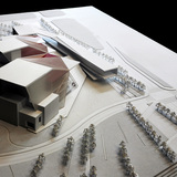 Aerial view from the river (Image: H Architecture & Haeahn Architecture)
