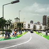 Rendering, urban situation (Image: Andrea Hernández & Cruz Criollo)