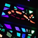 Dalle de verre glass detail. Photo by Robert Gregson.