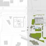 Site Plan. Image: Giovanni Vaccarini Architetti