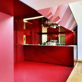 18.13 The Kitchen of the Theater in Como, Italy by Arkham Project; Photo- Marcello Mariana