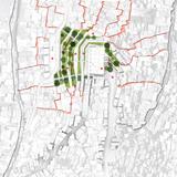 Global Holcim Awards Silver 2012: Urban remediation and civic infrastructure hub, São Paulo, Brazil: Site map. (Image © Holcim Foundation)
