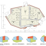 Comfort Stations (on Randalls Island) floor plan by RZAPS