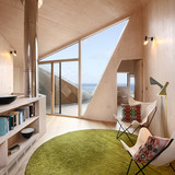 East Winner 2012: Interior of the Dune House, Suffolk - Jarmund Vigsnaes Architects & Mole Architects (Photo: Chris Wright)