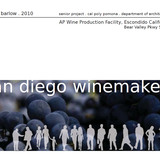 Proposed Escondido Wine Facility by John Barlow