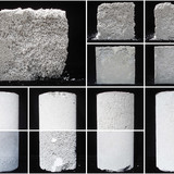 3rd Next Generation Prize: Foam concrete utilization research, Toronto, ON, Canada by Przemyslaw Latoszek, University of Toronto, Bradford, ON, Canada: Mix design samples of foamed concrete produced for the purposes of challenging the long standing notions regarding its potential applications...