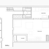 First basement floor plan (Image: AAKAA & MARS Architectes)