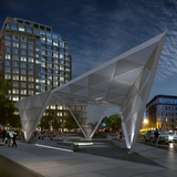 A rendering of the New York City AIDS Memorial. Credit: Studio ai / a2t