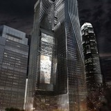 Kangde Center - Chongqing, China (competition entry) by Michael W Folonis Architects. Image © Michael W Folonis Architects