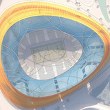 Site plan of the main stadium (Image: LAVA)