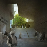 Main entrance (Image: Matteo Cainer Architects)