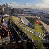 Olympic Sculpture Park, Seattle Art Museum in Seattle, Washington, by Weiss / Manfredi. Image courtesy of the MCHAP.