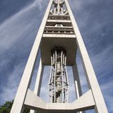 The 56-bell Carillon Tower. Photo by Robert Gregson.