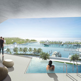 Honeycomb resort by BIGHoneycomb by BIG + HKS + MDA. Image courtesy of BIG.+ HKS + MDA. Image courtesy of BIG.